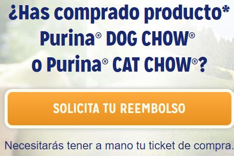 Prueba gratis comida para gatos Purina