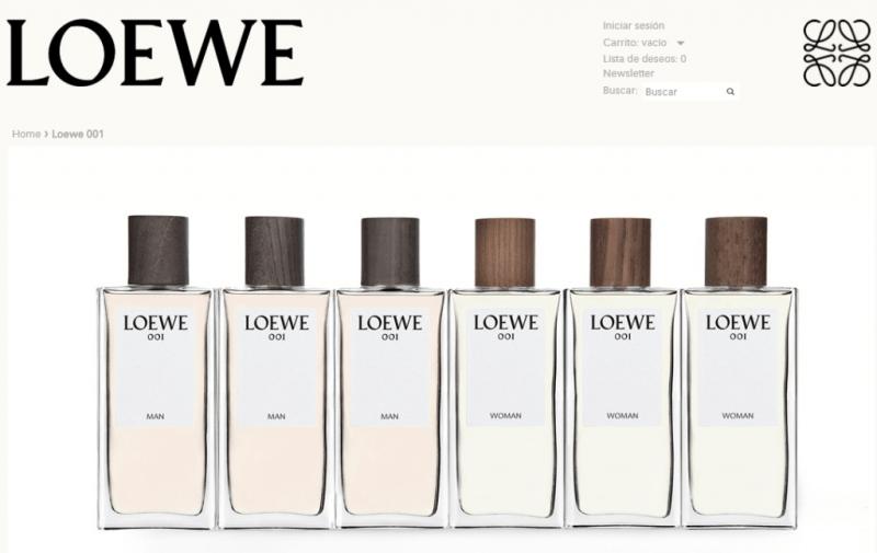 Muestra gratis de perfume Loewe
