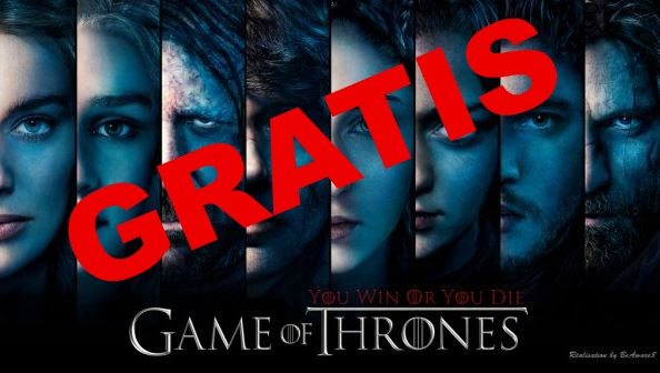 Juego de Tronos gratis con HBO