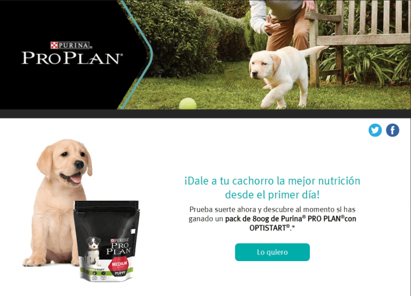 Regalan 1000 packs gratis de Purina Pro Plan