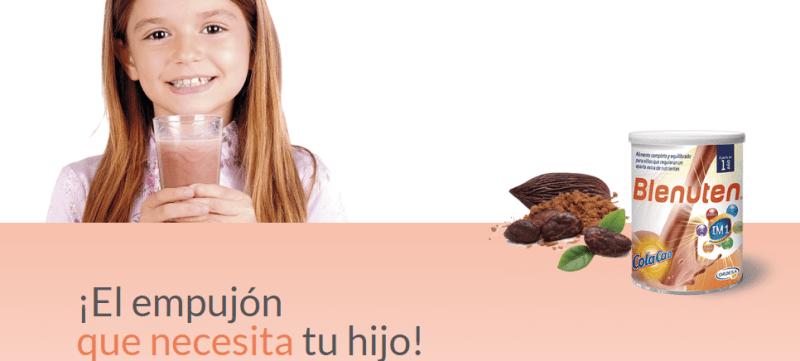 Muestras gratis de Blenuten con Cola Cao