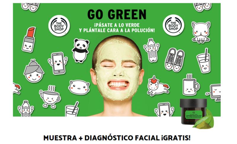 Muestra gratis de mascarilla facial
