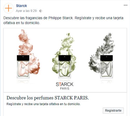 Muestras gratis de perfume a domicilio