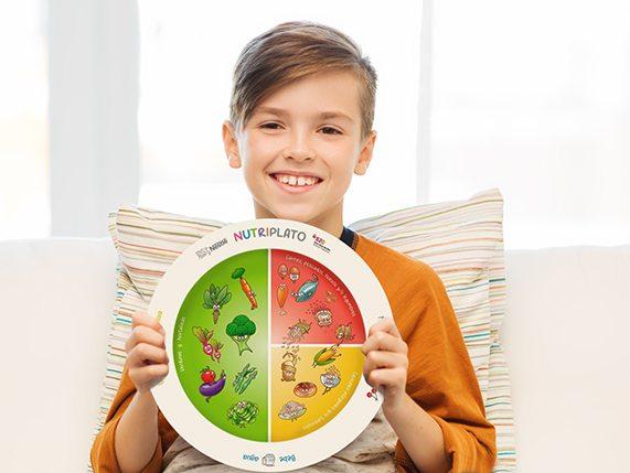 Consigue gratis un nutriplato de Nestle