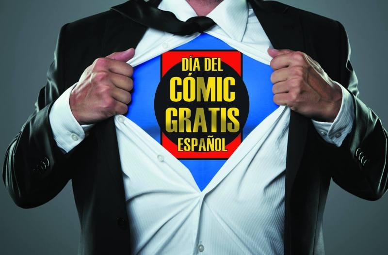 Regalan comics gratis por toda España