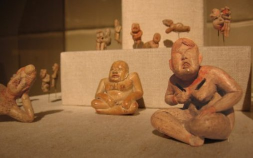 Small Olmec Figurines