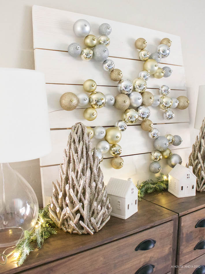 silver-gold-holiday-ornament-display
