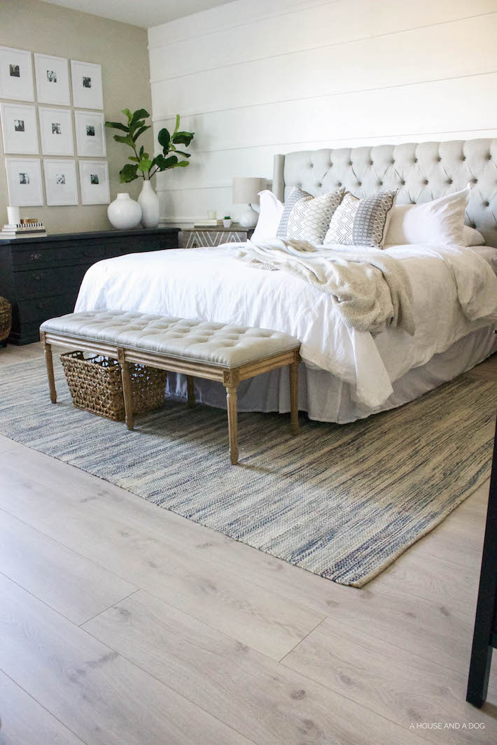 Pergo Flooring - Our New Modern Oak Floors | ahouseandadog.com