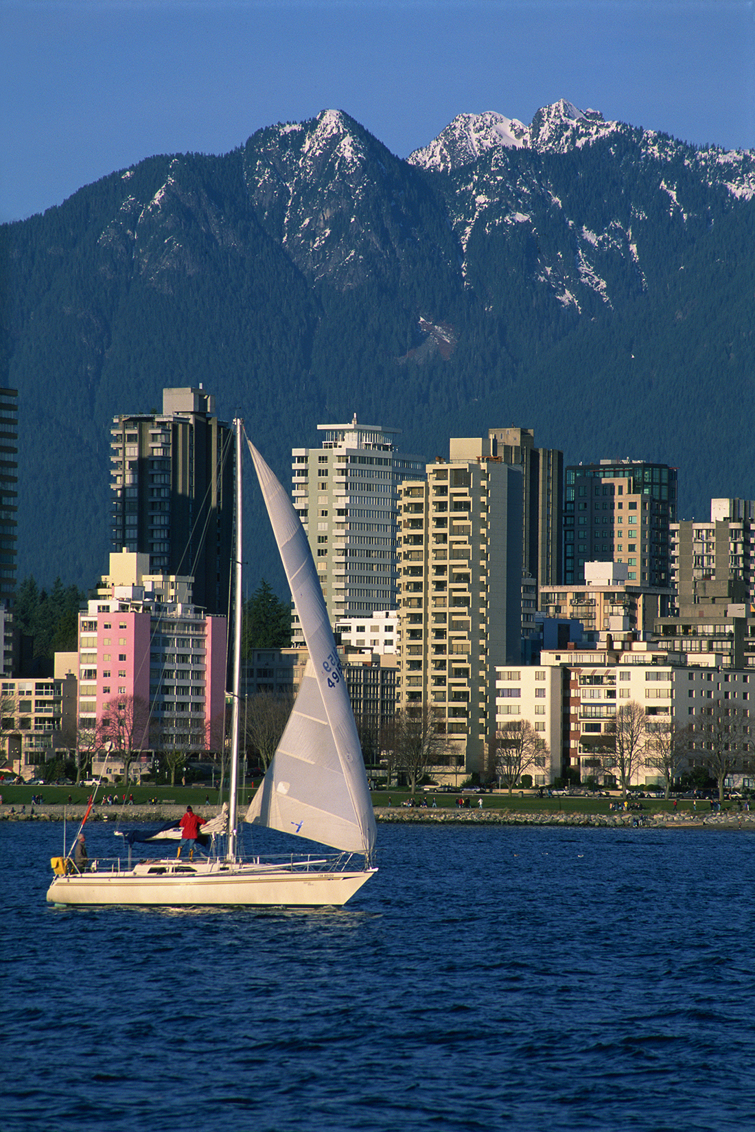 Sailing And Cruising Vancouver And Howe Sound BC Canada