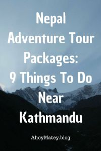 Adventure tour packages in Nepal that you can do near or from Kathmandu