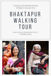 A Bhaktapur walking tour
