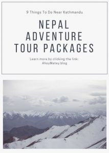 Himalaya excursions list in Nepal that you can do near or from Kathmandu