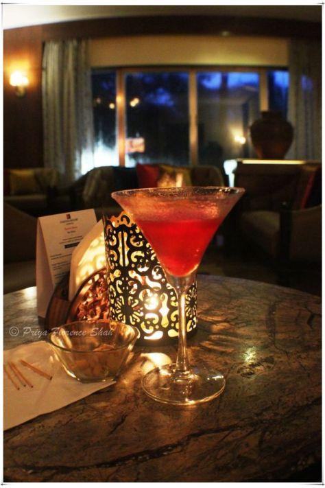 My Strawberry Daiquiri at the Tavern, Fariyas Hotel