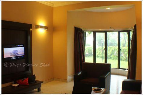 Our suite at the Treasure Island Resort Lonavala