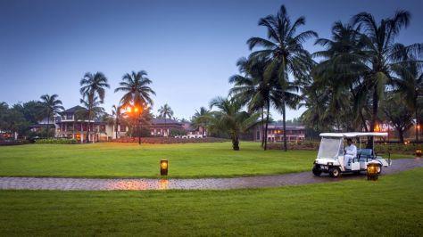 Buggy transport. Courtesy Park Hyatt Goa Resort and Spa