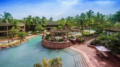 Lagoon-style pool at Park Hyatt Goa Resort and Spa