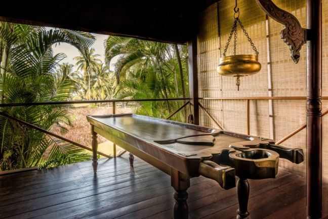 Outdoor Spa treatment room at Park Hyatt Goa Resort and Spa