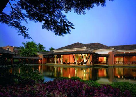 View of the Lobby. Courtesy Park Hyatt Goa Resort and Spa