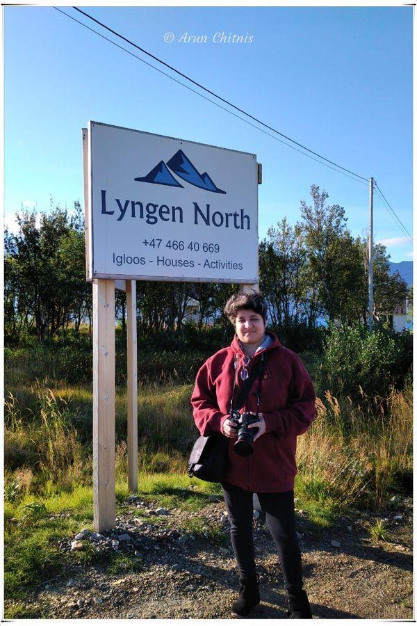 At Lyngen North, finally
