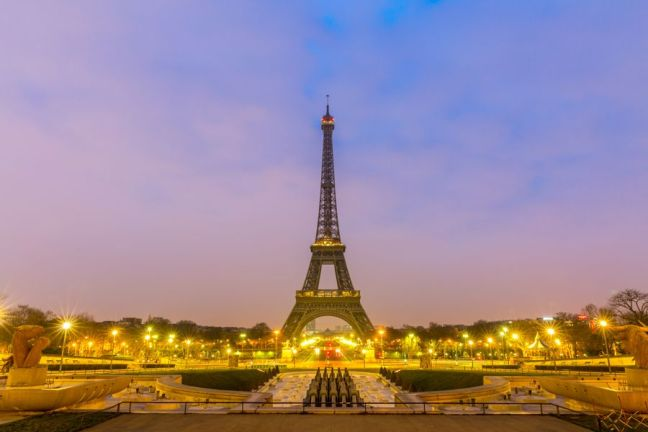 Eiffer Tower at Sunrise