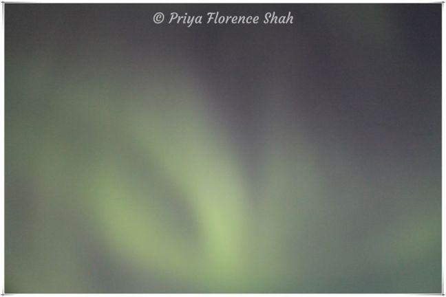 Spectacular Northern Lights display