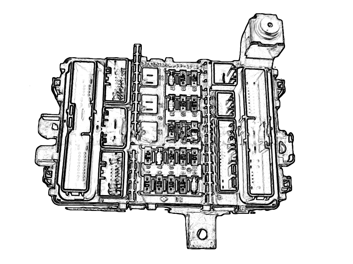 Honda Accord Fuse Box Diagram