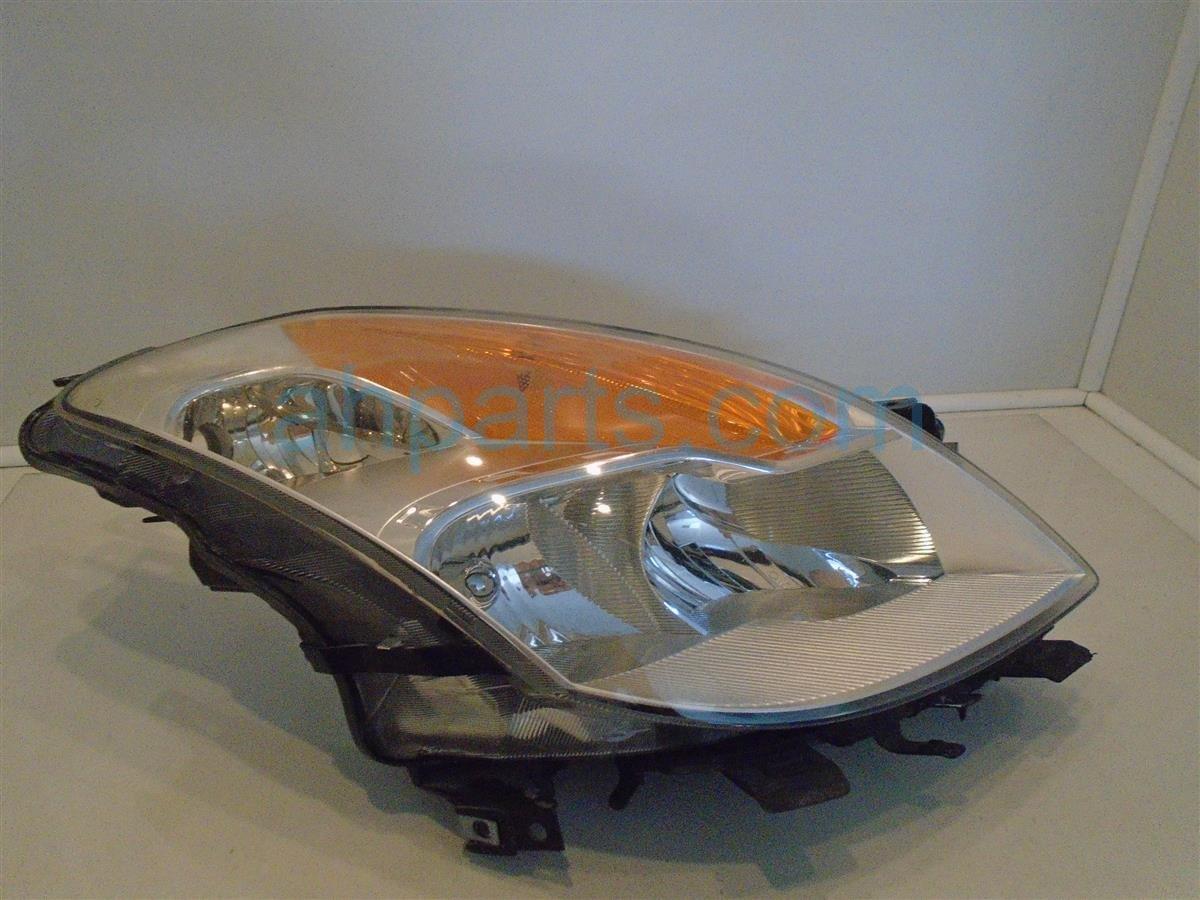 2008 Nissan Altima Lamp Passenger Headlight Assembly
