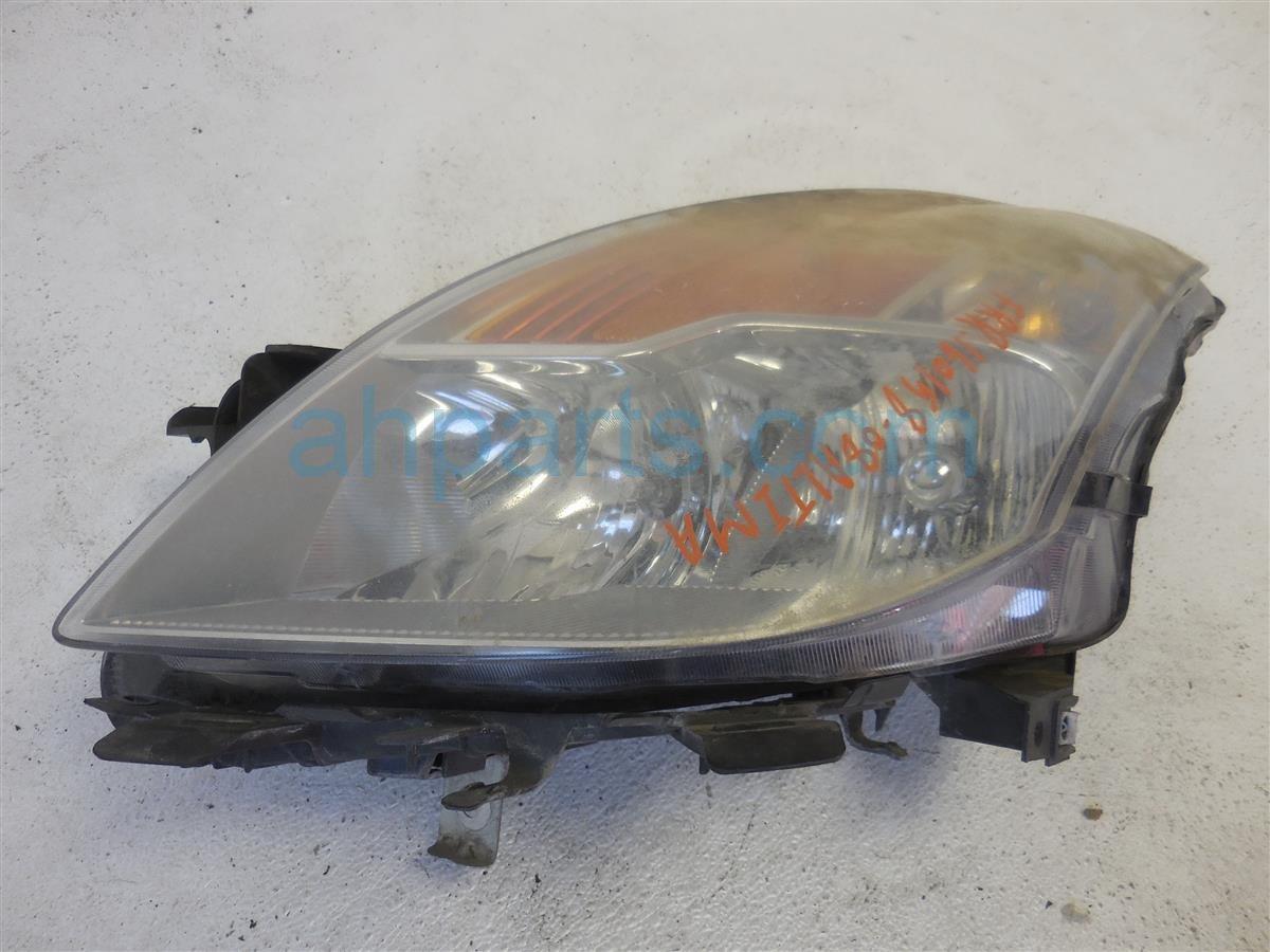 2008 Nissan Altima Headlight / Head Lamp Front Passenger