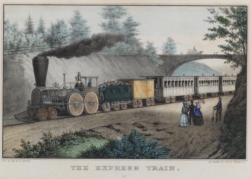 Nathaniel Currier, The Express Train