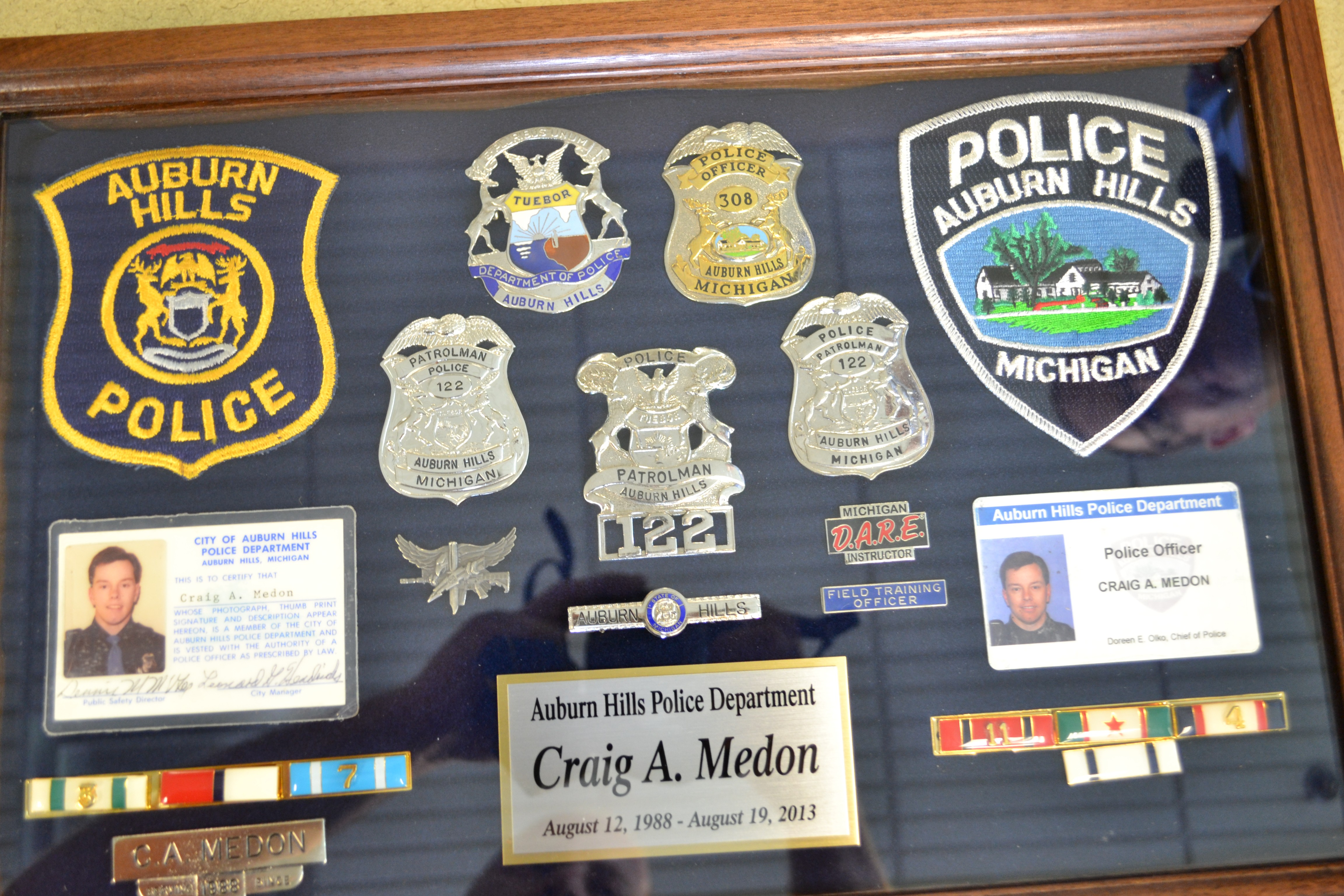 Good Bye To Officer Craig Medon After 25 Years Auburn
