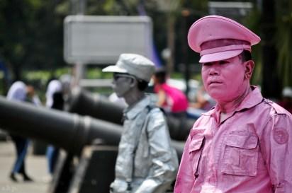 pink policeman