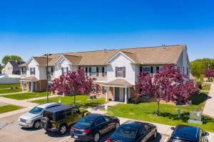 The acquisition included the 148-unit Landings on East Hill in suburban Detroit. (CoStar)