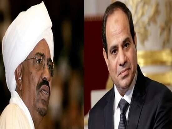 الرئيس السودانى عمر البشير يعزى الرئيس عبدالفتاح السيسى فى ضحايا قطار رمسيس