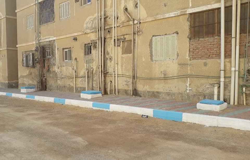 رئيس حى فيصل تتابع استمرار أعمال التطوير بمدينة تعاونيات القاهرة بحي فيصل بالسويس.