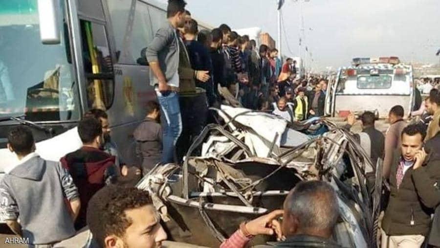 """حادث """"مفجع"""" يخلف 6 وفيات وعدد من الجرحى على طريق مصر اسكندرية"""