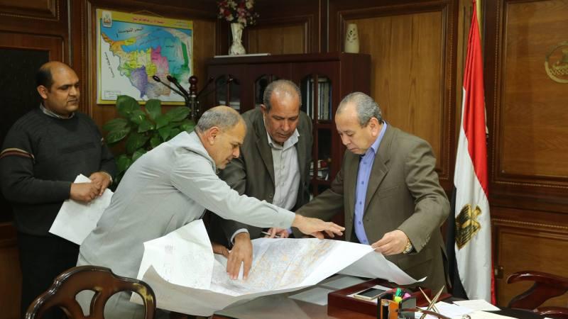 محافظ كفرالشيخ يعلن عن طرح مناقصة عامة لرصف مدينة فوه بالحجر البازلت