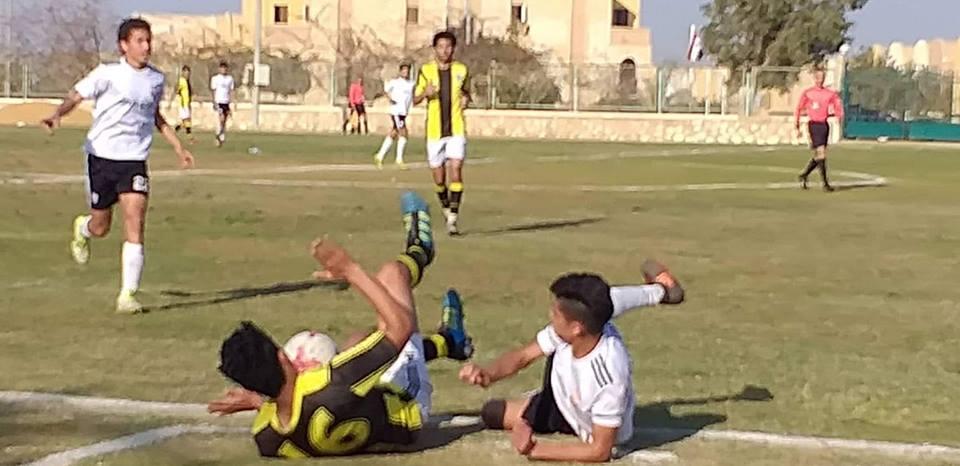 المقاولون يهزم الجونة بهدفين مقابل هدف فى بطولة الجمهورية مواليد 2001