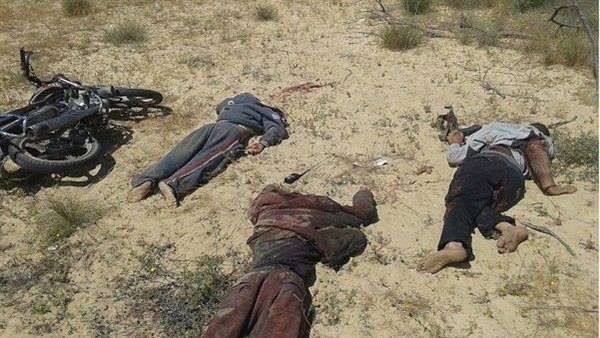 مصرع 7 إرهابيين في تبادل إطلاق نار مع الشرطة بالجيزة