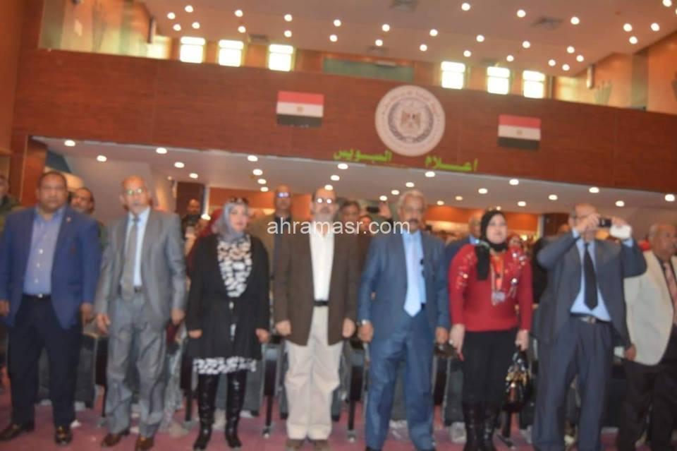 """مؤتمر """"دور منظمات المجتمع المدنى فى التصدى للمشكلة السكانية ومكافحة الفساد"""" بمركز النيل للإعلام بالسويس"""