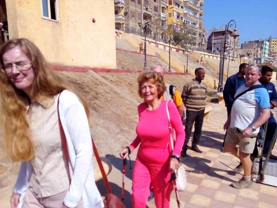 """""""سوهاج"""" تستقبل 84 سائح أجنبي لزيارة المنطقة الأثرية بأبيدوس"""