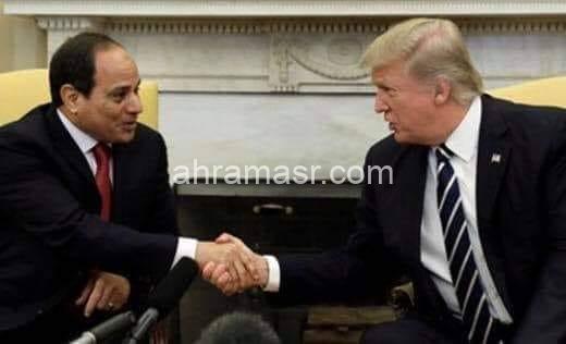 توطيد العلاقات بين مصر والولايات المتحدة الأمريكية.