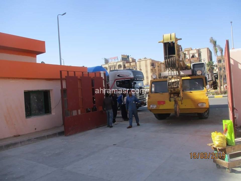 محافظ البحر الاحمر يؤكد على سرعة الانتهاء من محطة رافع الصرف الصحى رقم (7) بمنطقة ذهبية بمدينة الغردقة