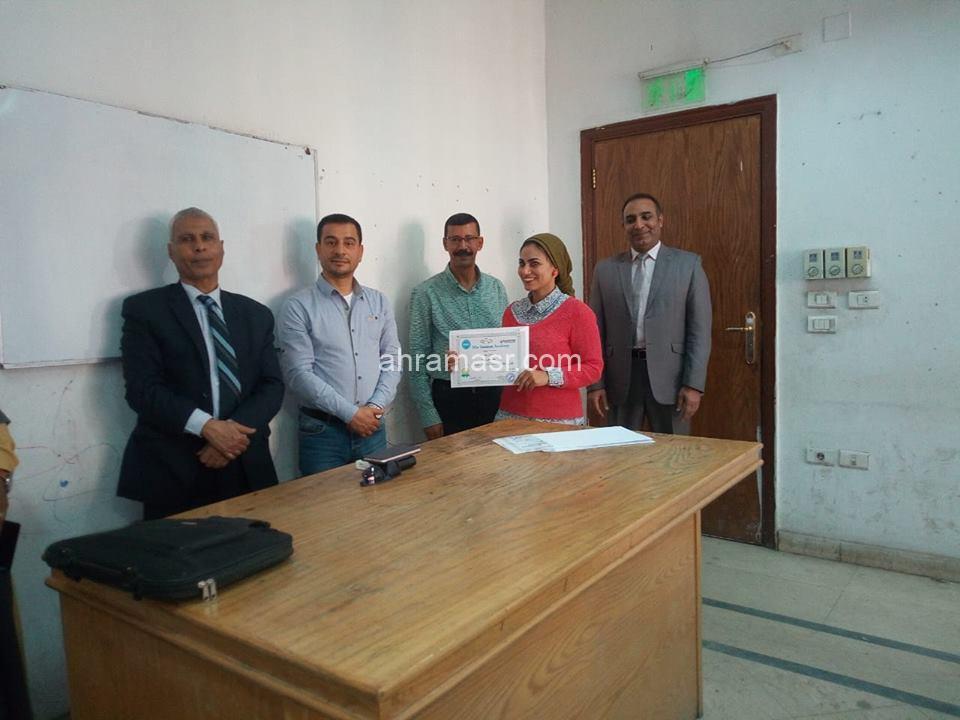 عطوه يشهد ختام حقيبة الخدمة المدنية في اسوان