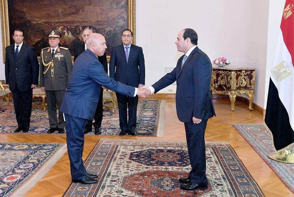 شهد السيسي اليوم أداء حلف اليمين للفريق كامل الوزير وزيراً للنقل