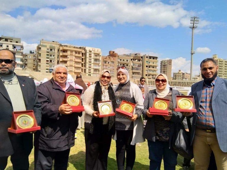 بالفيوم ختتام بطولة شمال الصعيد للمدارس الرياضية والعامة والاندية المصرية لالعاب القوى