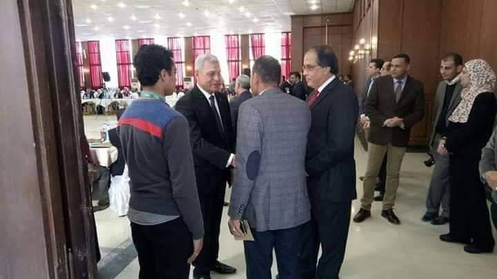 تحت رعاية محافظة المنوفية انعقاد المؤتمر الاول للتنمية المستدامة.بالمنوفية