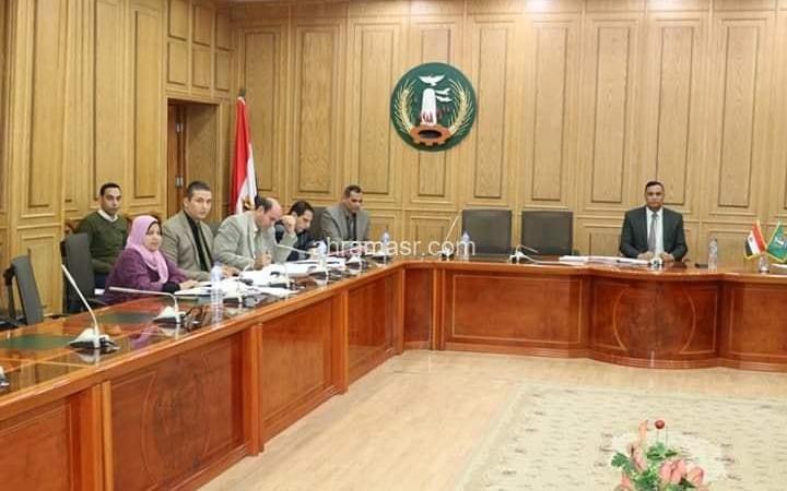 إجتماع لجنة صندوق الإسكان الإقتصادي بالمحافظة