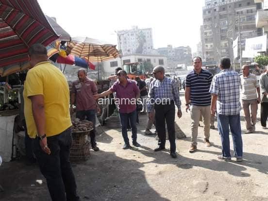 العميد يقود حملة لرفع الاشغالات فى ميت غمر : تحقيق : سامى ابورجيلة