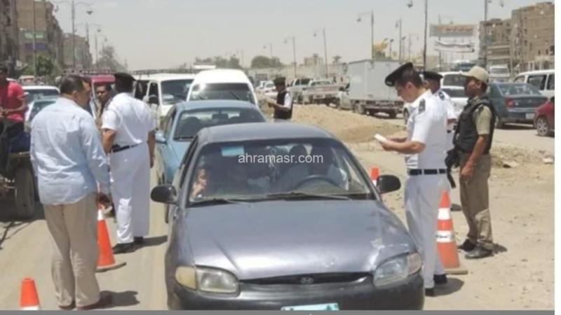 ضبط 229 مخالفة مرورية ومواد مخدرة وأسلحة نارية و6 متهمين في حملة بأسوان