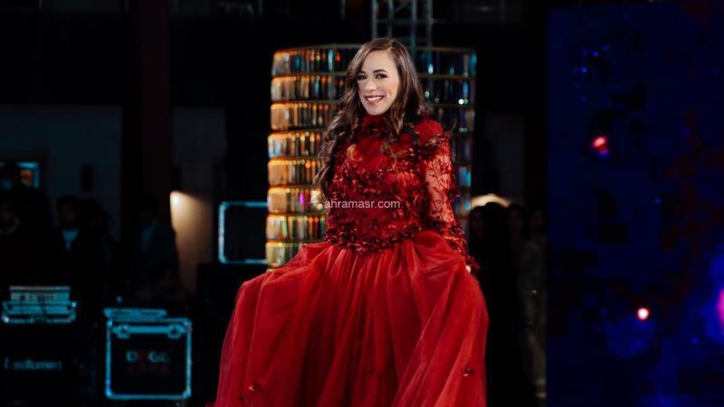 مريم ماركو تفوز بلقب الوصيفة الأولي بمهرجان بنت النيل Miss_Nile 3